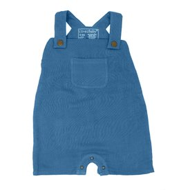 Loved Baby Loved Baby - Organic Muslin Overall - Pacific