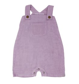 Loved Baby Loved Baby - Organic Muslin Overall - Amethyst