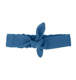 Loved Baby Loved Baby - Organic Muslin Tie Headband - Pacific