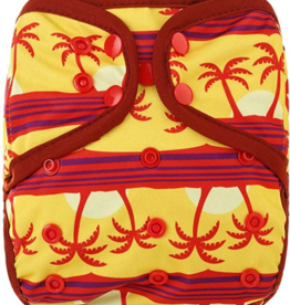 OsoCozy One Size Diaper Cover - Tropical Sunset