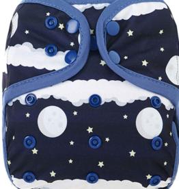 OsoCozy Newborn Diaper Cover - Night Sky