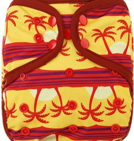 OsoCozy Newborn Diaper Cover - Tropical Sunset