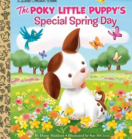 Little Golden Book - Poky Little Puppy's Special Spring Day