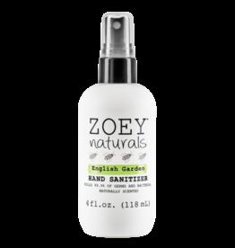 Zoey Naturals Zoey Naturals - Hand Sanitizer - English Garden