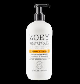 Zoey Naturals Zoey Naturals - Head to Toe Wash - Sweet Citrus