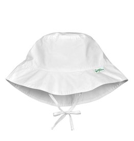 Green Sprouts Bucket Sun Protection Hat - White