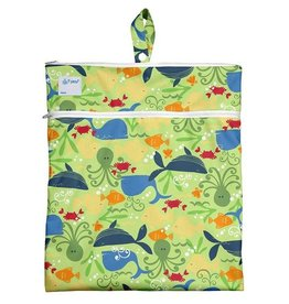 Green Sprouts Wet & Dry Bag - Green Sealife
