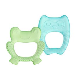 Green Sprouts Cool Nature Teether - 2pk Green/Aqua