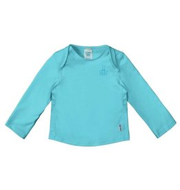 Green Sprouts Easy-On Rashguard Sun Shirt - Aqua