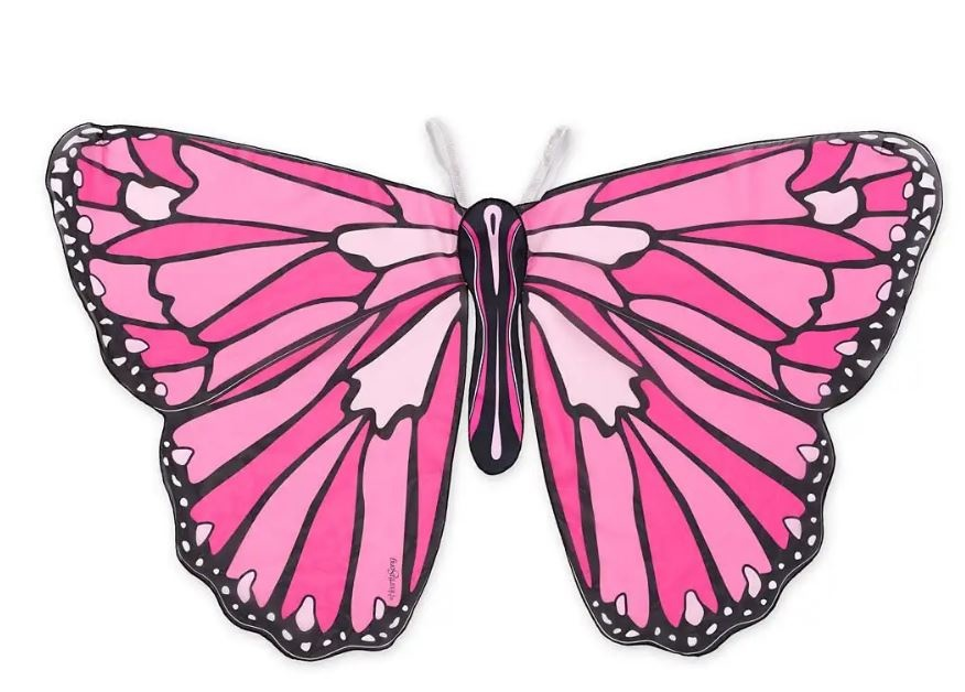 Hearthsong Colorful Butterfly Wings - Pink