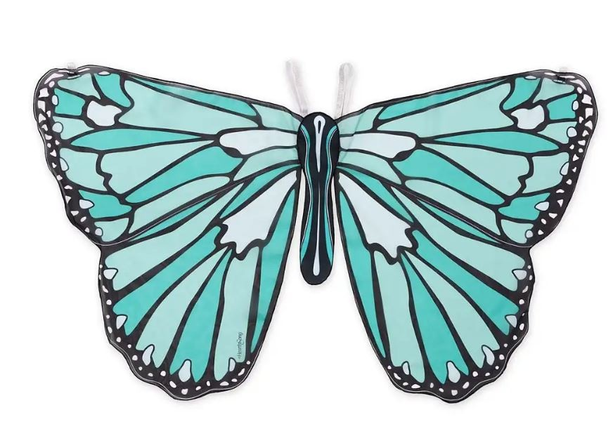 Hearthsong Colorful Butterfly Wings - Teal
