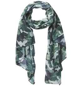 Tickled Pink Insect Shield Scarf - Green Camo