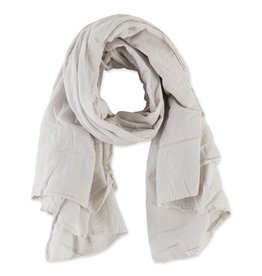 Tickled Pink Insect Shield Scarf - Light Taupe