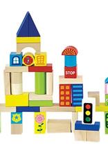 Original Toy Company City Block Set 75pc