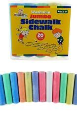 Original Toy Company Jumbo Washable Sidewalk Chalk