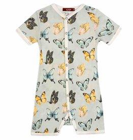 Milkbarn Milkbarn - Bamboo Shortall - Butterfly