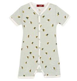 Milkbarn Milkbarn - Bamboo Shortall - Bumblebee