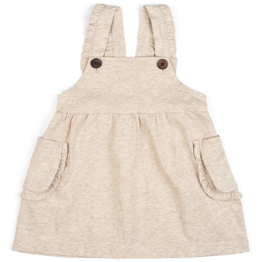 Milkbarn Milkbarn - Dress Overall - Heathered Oatmeal