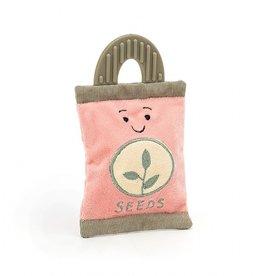 Jellycat Jellycat - Whimsy Garden Seed Packet Rattle
