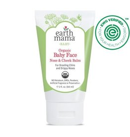 Earth Mama Angel Baby Baby Face Organic Nose & Cheek Balm 2 oz