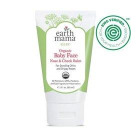 Earth Mama Angel Baby Baby Face Organic Nose & Cheek Balm 2 oz