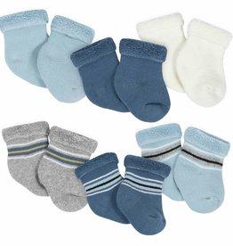 Gerber Gerber - 6-pack Socks 0-3m