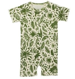 Loved Baby Loved Baby - Romper - Get Clover It! Beige