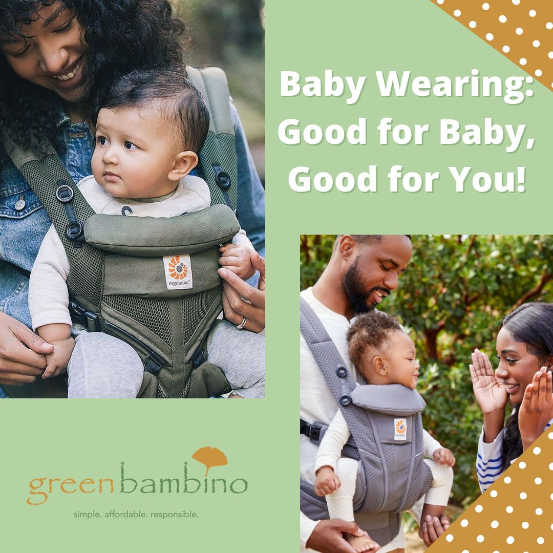 Top 5 Benefits of Babywearing