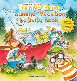 Night Before Summer Vacation Activity Book