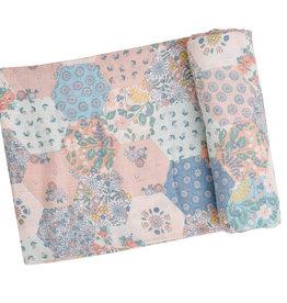 Angel Dear - Swaddle Blanket - Vintage Patchwork