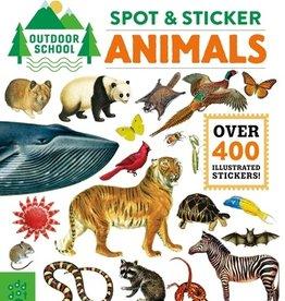 Outdoor School - Spot & Sticker  Animals