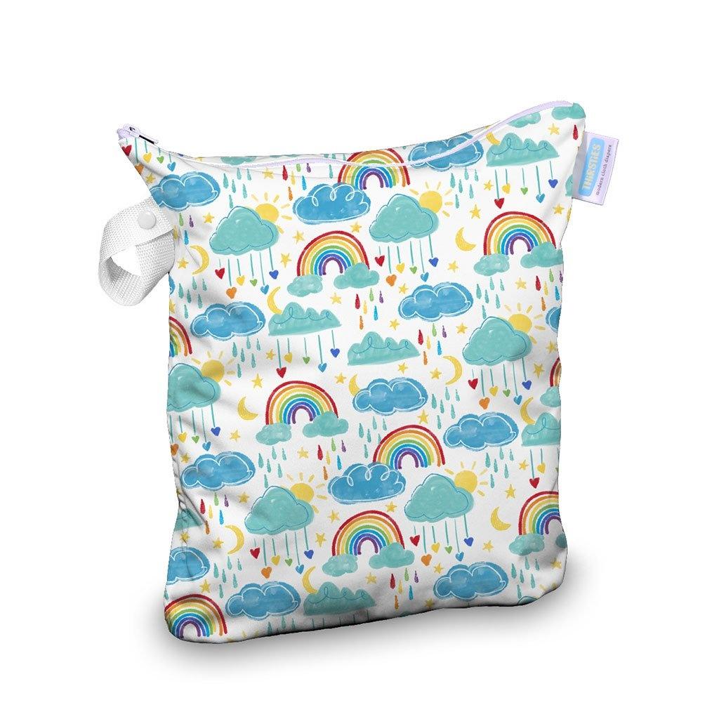 Thirsties Thirsties - Deluxe Wet Bag - Rainbow