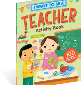 I Want to Be a Teacher Activity Book