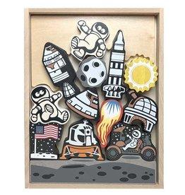 Lunar Lander Stacking Game