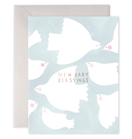 Baby Blessings Greeting Card