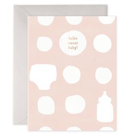 Peachy Baby Greeting Card