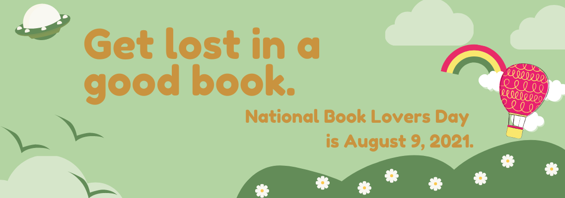 Book Lovers Day is August 9, 2021 - and we have prizes!