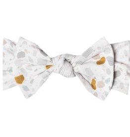 Copper Pearl Copper Pearl - Knit Headband Bow - Arlo