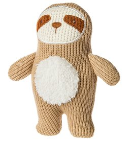 Mary Meyer Knitted Nursery Rattle Toy Sloth