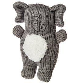Mary Meyer Knitted Nursery Rattle Toy Elephant