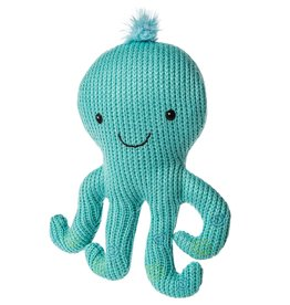Mary Meyer Knitted Nursery Rattle Toy Octopus