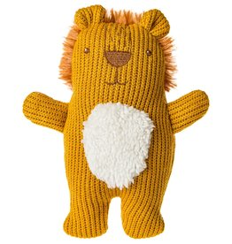 Mary Meyer Knitted Nursery Rattle Toy Lion