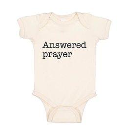 Wildwood Landing Answered Prayer (White) - Bodysuit