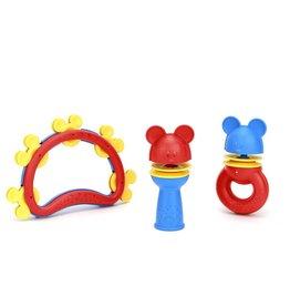 Green Toys Green Toys - Disney Mickey Mouse Shake & Rattle Set