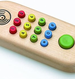 Original Toy Company Wooden Cell Phone