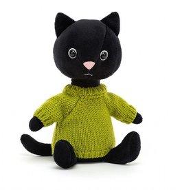 Jellycat Knitten Kitten - Lime