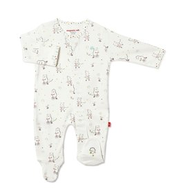 Magnetic Me Magnetic Me - Organic Cotton Footie - Welcome Baby