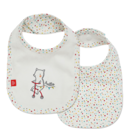 Magnetic Me Magnetic Me - Reversible Bib - Welcome Baby
