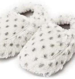 Warmies Warmies Spa Therapy Slippers - Snowy
