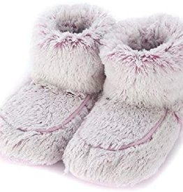 Warmies Warmies Spa Therapy Boots - Marshmallow Lavender